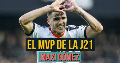 El MVP de la Jornada 21: Maxi Gómez