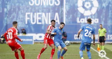 CF Fuenlabrada 0-1 Girona FC
