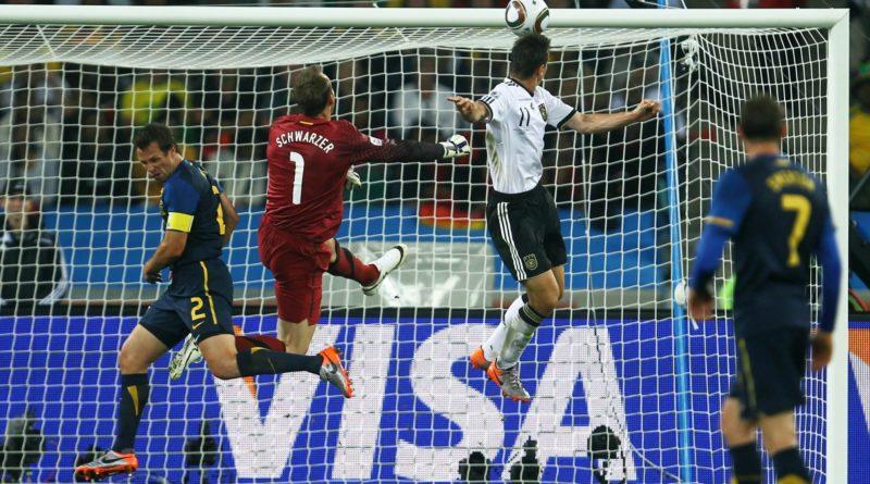 Alemania 4-0 Australia