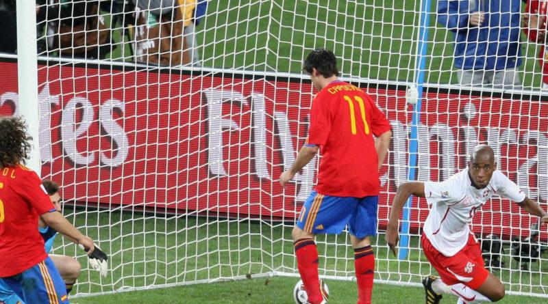 España 0-1 Suiza