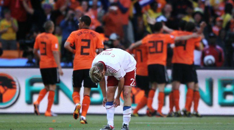 Países Bajos 2-0 Dinamarca