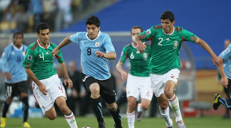 México 0-1 Uruguay