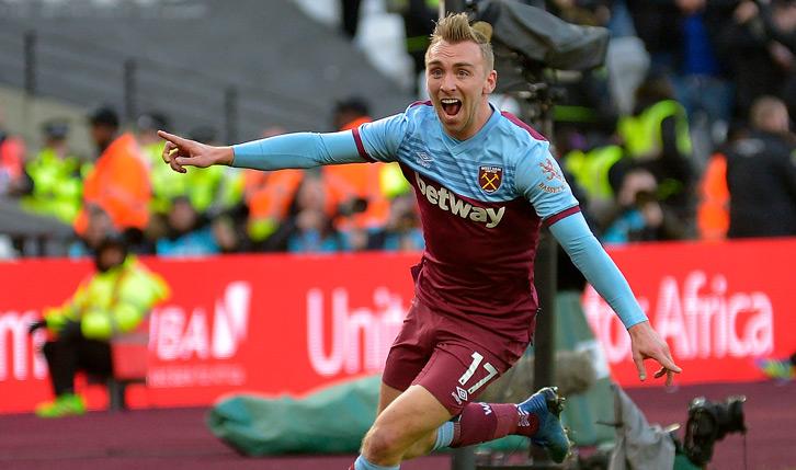 Bowen celebrando un gol con el West Ham | Foto: West Ham United