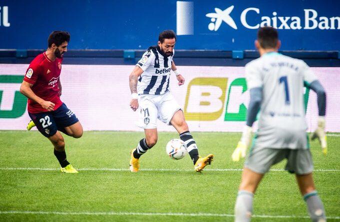 Campaña, el mejor del Osasuna 1-3 Levante