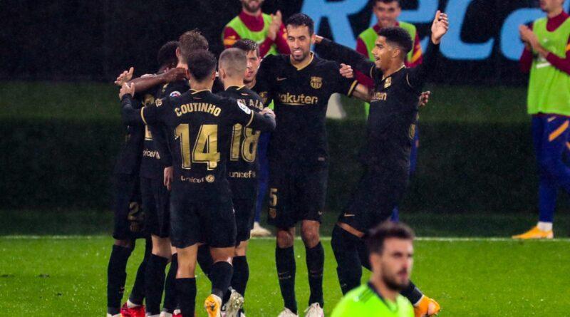 Celta 0-3 Barcelona