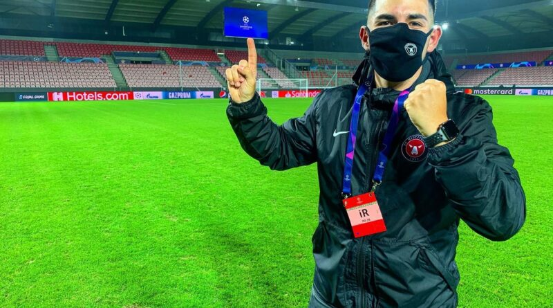 José Rodríguez, analista del FC Midtjylland