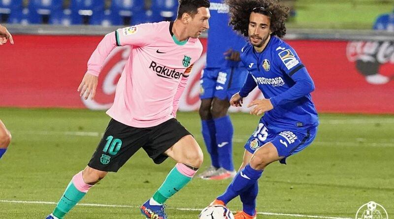 Getafe 1-0 Barcelona
