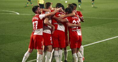 Celebración del gol