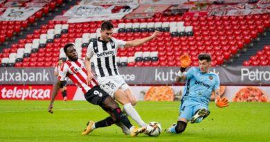 Athletic 1 - 1 Levante