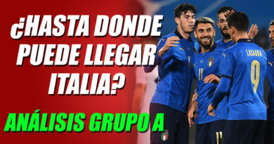 Hasta dónde puede llegar Italia en la Eurocopa